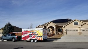 Solar Panels on Home in Western Colorado