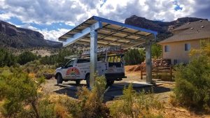Solar Carport Installation