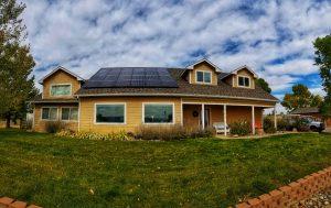 Panasonic Solar Panels on a home